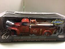 1:16 HIGHWAY 61 CHEVROLET RED 1946 MEDIUM DUTY FIRE TRUCK VERY RARE