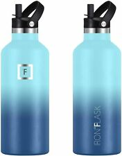 Sport IRON °FLASK 12 Oz to 64 Oz, Vacuum Insulated Stainless Steel Water Bottle