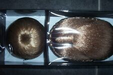 2 HAIR BUNS (CHIGNONS) BRAND NEW AND BOXED