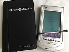 New York Times Deluxe Touch-Screen Crossword Puzzle Sharper Image