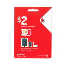 Vodafone $2 starter sim pack.