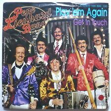 "PEPE LIENHARD BAND - Play 'em again - 7""-Single"