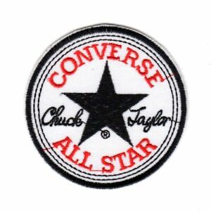 Converse All Star Patch Sports Brand Shoes Badge Logo