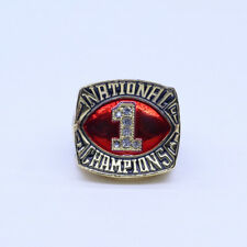 1985 Oklahoma Sooners Championship rings