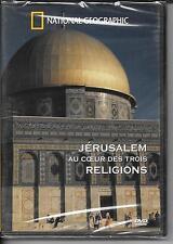 DVD ZONE 2--DOCUMENTAIRE NATIONAL GEOGRAPHIC--JERUSALEM AU COEUR DES 3 RELIGIONS