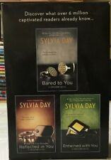 Sylvia Day Crossfire Series. 3 Paperback Books Boxed Set