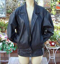"Nordstrom Brass Plum Women Lined Leather Jacket Siz ""S"" NICE!!"