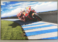 PRL) MOTO GP #93 MARQUEZ 50x75 cm RACING QUADRO FRAME TELA TOILE PIC PHOTO FOTO