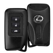 Aluminium Car Remote Key Protect Cover Shell Key Chain Keyring For Lexus ES IS