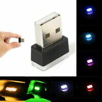 Universal Mini USB Atmosphere LED Light Lamp Auto Car Accessories Lamp Decor Hot