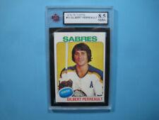 1975/76 TOPPS NHL HOCKEY CARD #10 GILBERT PERREAULT KSA 8.5 NM/MINT+ 75/76 TOPPS
