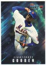 2016 Topps Bunt Baseball (Physical) Light Force #LF-9 Dwight Gooden Mets
