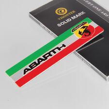 Car Decoration Side Rear Sticker Fender Emblem Badge Logo Accessories For ABARTH