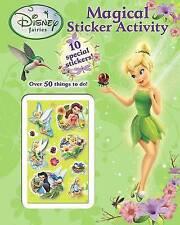 Disney Fairies - Magical Sticker Activity - Sparkly 3d Stickers