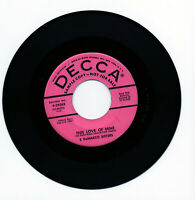 Five DeMarco Sigers - This Love Of Mine - 45RPM - Near Mint - Promo