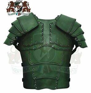 Medieval Leather Armor Sentinel Shoulder Larp Cosplay