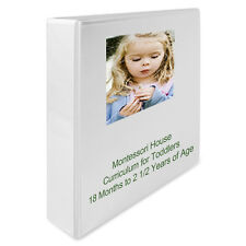 Montessori Teaching Album for TODDLERS Homeschool or Classroom