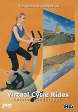 COASTAL LANDSCAPES VIRTUAL CYCLE RIDES STATIONARY BIKE TREADMILL WORKOUT DVD NEW