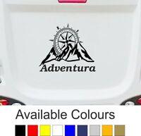 CARAVAN / MOTORHOME | Sticker/Decal | Mountains Compass Adventure | BB230