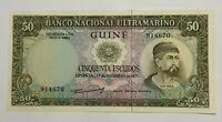 Portugal Guinea 50 escudos 1971 UNC