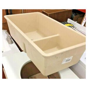 Blanco Precis Undermount Granite 33 in. x 18 in. 60/40 Double Bowl Kitchen Sink