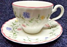Johnson Brothers Summer Chintz Tea Cup Saucer Sets EXCELLENT!