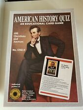 American History Quiz Educational Card Game Teach Homeschool Learn Smithsonian