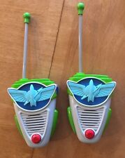 Buzz Lightyear Walkie Talkie Star Command Communicator - Toy Story - Morse Code