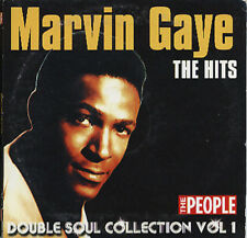 MARVIN GAYE + THE TEMPTATIONS: DOUBLE SOUL COLLECTION - PROMO  2 CD SET (2006)