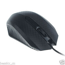 For PC Laptop 1200 DPI USB Wired Optical Gaming Mouse Mice Ergonomic 1.5M Black