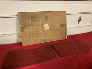 NOS 1993 94 95 96 97 FORD THUNDERBIRD RED FLOOR MATS F3SZ-6313086-AAC