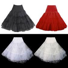 Knee Nylon Bridal Slips, Petticoats & Hoops
