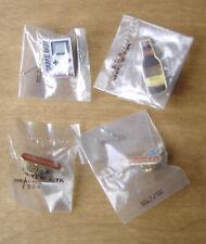 lot 4 pin's vintage 3 Nintendo 3615 - Game boy - Nitendo & 1 Bud Neufs /blister