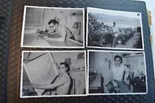 Vintage Photos Handsome Man at Work Drafing Palo Alto Project at Silver Lake 870