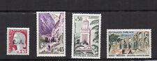 ALGERIE 1962 Y&T N°355 à 358  4 timbres neufs sans charnière /T3782