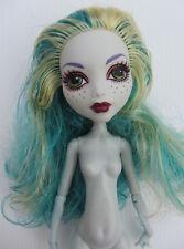 Mattel MONSTER HIGH DOLL - LAGOONA BLUE Black Carpet - Nude (2)