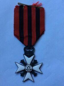 Belgian Long Service Medal Cross original full size medal 99p start only