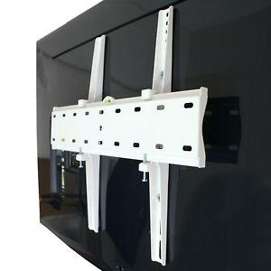 TV Wandhalterung WEIß f. Samsung 49 55 65 Zoll Flat QLED QE49Q7F QE55Q7F QE65Q7F