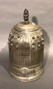 Antique Japanese Bronze Temple Bell