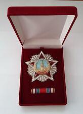 "SOVIET RUSSIAN HIGHEST AWARD WW2 ""ORDER OF VICTORY"" 1945.SWAROVSKI CRYSTALS COPY"
