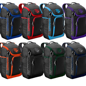 Louisville Slugger Omaha Stick Pack Backpack – Baseball & Softball Equipment Bag