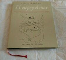 Librerías Libro E. hemmingway Dali Book Espana galaxia Gutenberg Art Graphic Design Libro
