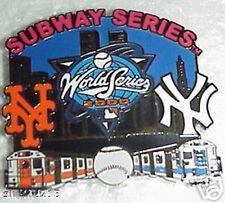 2000 World Series Subway Series Pin- New York Yankees vs New York Mets