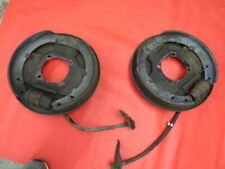 1939-41 Ford original hydraulic front backing plates brakes No Reserve flathead
