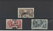 GB STAMPS 1934 RE-ENGRAVED SEAHORSE SET USED.