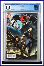 Superman Batman #7 CGC Graded 9.6 DC April 2004 White Pages Comic Book