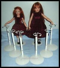 """6 KAISER Doll Stands for Kish 14"""" Lark Chrysalis 16"""" Seasons"""