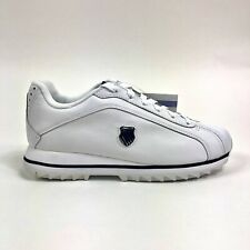 K Swiss Verstad Shield Womens White Sneakers Low Shoes Size 6 Retro 9480109