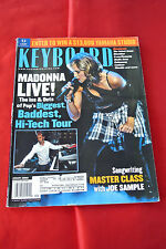 Madonna Keyboard January 2002 Music Magazine