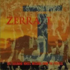 "ZERRA I 'TEN THOUSAND VOICES, MESSAGE FROM THE PEOPLES' UK PIC/SLV 7"" SINGLE"